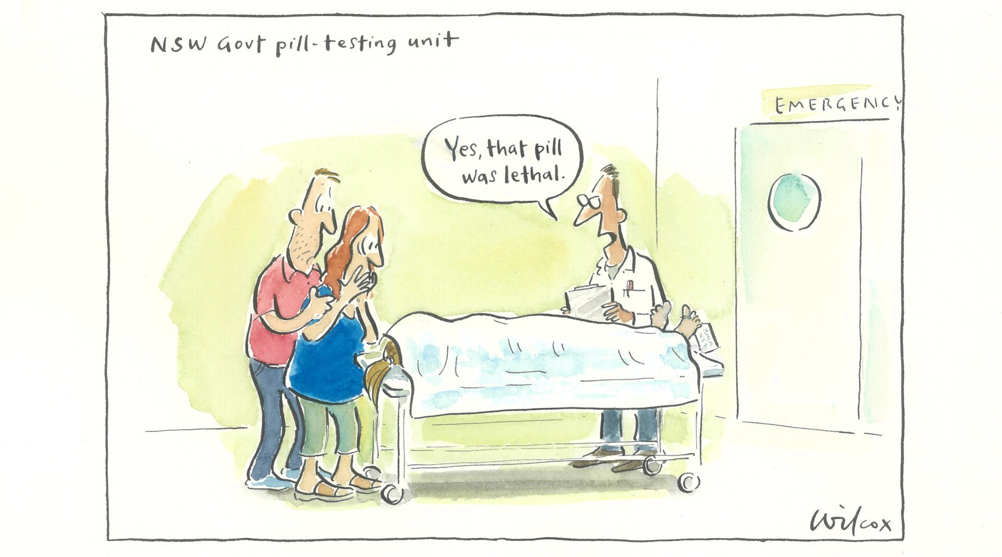 NSW Govt pill-testing unit