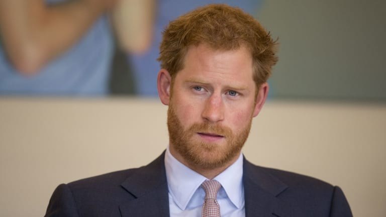 Prince Harry opened up about his mental health struggles photo
