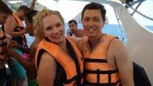 爆发时,卡拉路马修斯(Karla Mathews)和理查德路埃尔泽(Richard Elzer)正在访问华卡里/白岛。