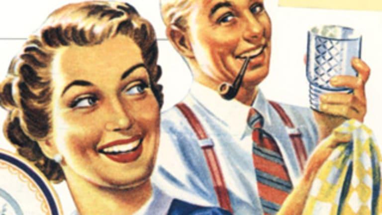 Women still do more housework