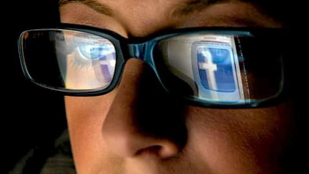 Caught In The Spider's Web Of Facebook