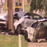 'It was pretty scary seeing a car cut in half': Teenage girl killed in horrific smash