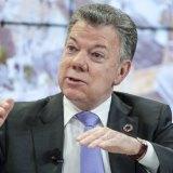 Juan Manuel Santos, president of Colombia.