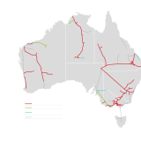APA's gas pipeline network.