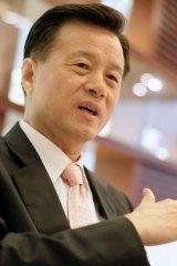 Billionaire Hui Wing Mau keeps a low profile.