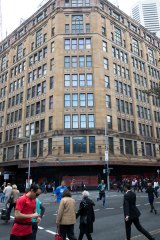 The famous corner windows will become the new entry to the flagship department store.