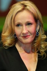 "JK Rowling: ""I think my country helped me."""