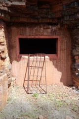 An old shaft in Wittenoom.