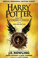 <p>Harry Potter and the Cursed Child. By J.K. Rowling, John Tiffany &amp; Jack Thorne. Script by Jack Thorne.</p>