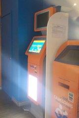"A ""CashNgo"" fast loan machine in Minto Marketplace."