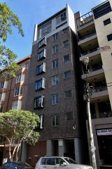 The Onyx apartment block in Pyrmont.