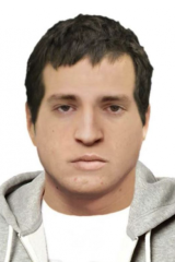 A computer-generated image of a man police wish to speak to over the Royal Park sexual assault.