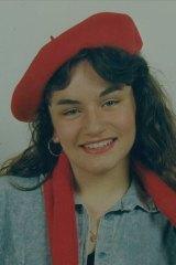 Sarah was an aspiring model as a teenager.
