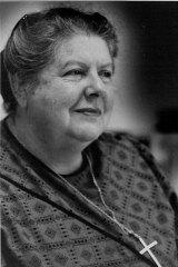 Freda Whitlam, moderator of the Uniting Church