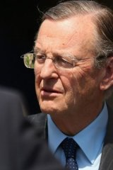 Liberal Party grandee Hugh Morgan.