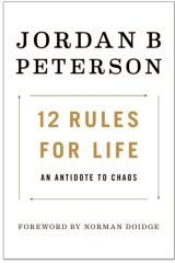 The cover of psychologist Jordan Peterson's self-help book.