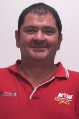 NUW official Ian Mackay.