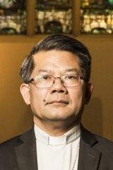 Bishop of Parramatta Vincent Long Van Nguyen is regarded as a  long shot.