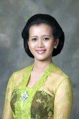 Sultana-in-waiting Gusti Kanjeng Ratu Mangkubumi.