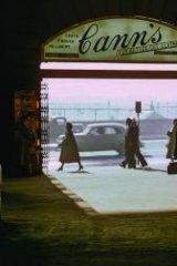 Exits: Flinders Street station, 1950s.