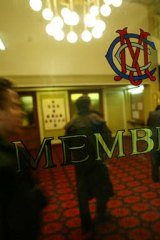 The old MCC members' doorway.