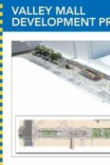 Plans for the revitalisation of Brunswick Street Mall.