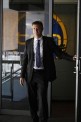 Vision and patience required ... Channel Ten CEO James Warburton.