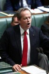 Opposition Leader Bill Shorten.