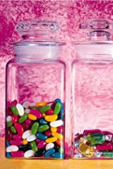 Shades of unrest ... The synthetic dyes are found in more than 1000 products in Australia.