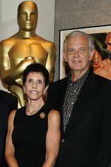 Composer Bruce Broughton (right) is a member of the Academy and has hit back over Oscar disqualification.