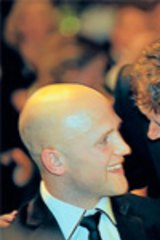 Mark Thompson with Gary Ablett at the 2009 Brownlow Medal.