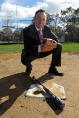 Tony Fraser is a former chief of the Canberra Cavalry baseball team.