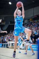 Abby Bishop is back off to the WNBA.