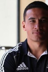 The Silver Fern, as worn here by former All-Black Sonny Bill Williams, has been suggested as a possible new symbol for a New Zealand flag.