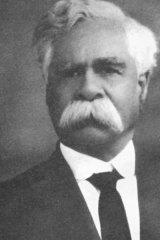 Aborigines' League founder William Cooper.