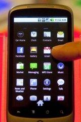 Google's Nexus One sold in the US.