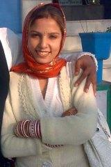 Killed by her husband ... Manpreet Kaur.