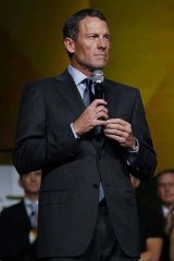 """""""Humbled"""" ... Lance Armstrong."""