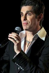 Perry Farrell at The Forum tent at Splendour in the Grass.