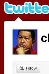 Venezuelan President Hugo Chavez takes to Twitter to counter criticism.