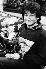 Robin Williams became famous playing an alien and gave every impression of having arrived from the stars himself to teach us dull earthlings how to laugh.