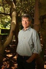 Braidwood author Roger McDonald.