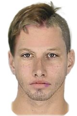 Police are hunting for this man who assaulted a girl at her primary school.