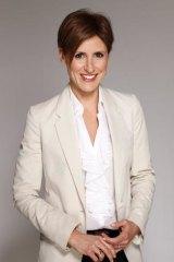 <I>Lateline</i> host, Emma Alberici.