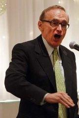Senator again: Bob Carr.