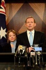 Sophie Mirabella, Tony Abbott and Joe Hockey.