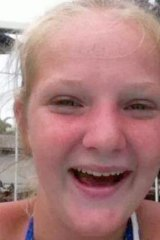 Jazmin Deacon, 13, who was missing for two months.