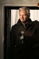 Answering your questions: Julian Assange.