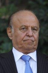 Yemen's President Abd-Rabbu Mansour Hadi.