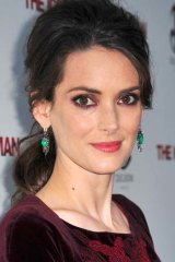 Star Survivor: Winona Ryder on the red carpet earlier this year.